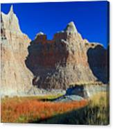 Badlands At Sunset Canvas Print