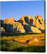 Badlands Buttes, South Dakota Canvas Print