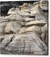 Badlands Drumheller Alberta Canada 2 Canvas Print