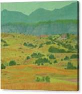 Badlands Grandeur Canvas Print