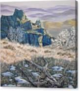 Badlands Morning Canvas Print