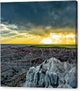 Badlands Np Pinnacles Overlook 2 Canvas Print
