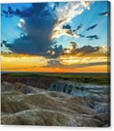 Badlands Np Wilderness Overlook 1 Canvas Print