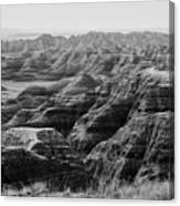 Badlands Of South Dakota #2 Canvas Print