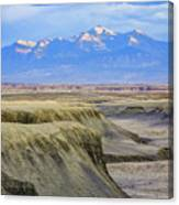 Badlands Of Utah Canvas Print