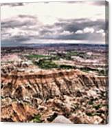Badlands Panorama Canvas Print