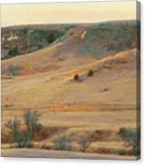 Badlands Prairie Reverie Canvas Print
