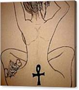 Badu Peaceful  Canvas Print