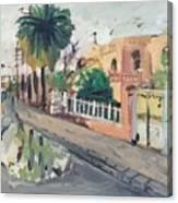 Baghdad Old House Canvas Print