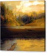 Bagley Lake Canvas Print