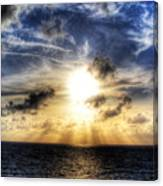 Bahama Sunset By Steve Ellenburg Canvas Print