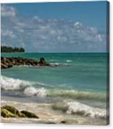 Bahamas Beach Canvas Print
