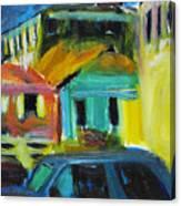 Bahamas Buildings Canvas Print