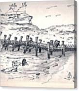 bahamas III Canvas Print