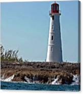Bahamas Lighthouse Canvas Print