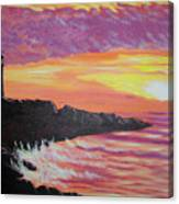 Bahia At Sunset Canvas Print