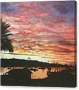 Bahia Inglesa Landscape  Canvas Print