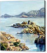 Baie Canvas Print