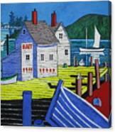 Bait House Canvas Print