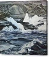 Baja Break Canvas Print
