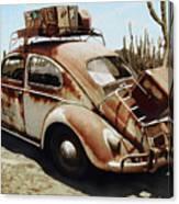 Baja Bug Canvas Print