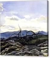Baker Dam Colorado Canvas Print