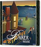 Baker House Endless Sunset Canvas Print