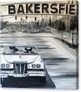 Bakersfield Canvas Print