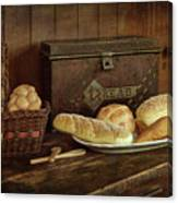 Baking Day - Bread Canvas Print