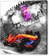 Baku 2018 - #14 Fernand Alonso Canvas Print