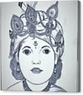 Bal Krishna Canvas Print