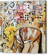 Balaams Donkey Sees The Angel 201762 Canvas Print