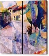 Balade A Mont Canvas Print