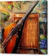 Balalaika Awaiting   Canvas Print