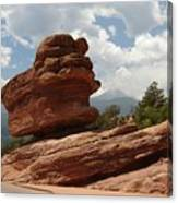 Balance Rock Canvas Print