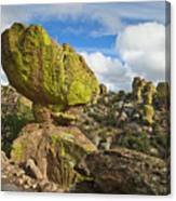 Balanced Rock Formation Canvas Print