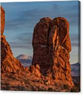 Balanced Rock Sunset Canvas Print