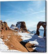 Delicate Arch Wide Canvas Print