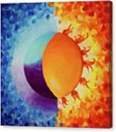 Balancing Sun And Moon Energies Canvas Print