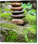 Balancing Zen Stones IIi Canvas Print