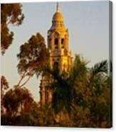 Balboa Park Bell Tower Canvas Print