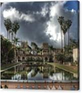 Balboa Park Fountain Canvas Print
