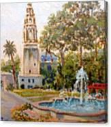 Balboa Park Tower Canvas Print