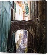 Balcony On The Arch Canvas Print
