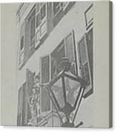 Balcony Railings Canvas Print