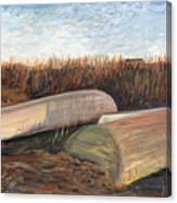 Bald Head Boats Canvas Print