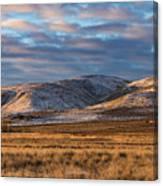 Bald Mountain At Dawn 2 Canvas Print