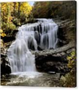 Bald River Falls In Autumn Canvas Print