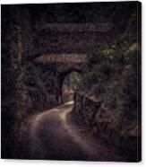 Balduinstein Castle_gateway Canvas Print