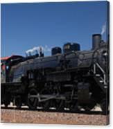 Baldwin Mikado 2-8-2 No 4960 Steam Locomotive Williams Arizona Canvas Print
